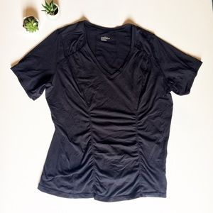 Zella 2X Athletic Black Shirt